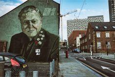 attenborough, rocket, 01, andy nicholson, charles street, sheffield Arctic Monkeys, Bao, Sheffield, Hanging Out, Street Art