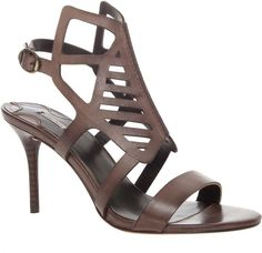 Max Studio by Leon Max Wanessa - Slashed Leather Sandal