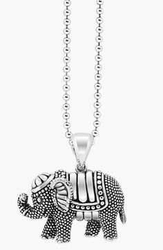 Lagos 'Rare Wonders - Elephant' Long Talisman Necklace available at #Nordstrom