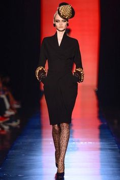 LOOK2 FALL 2013 COUTURE Jean Paul Gaultier