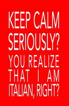 Yup, I'm Italian!