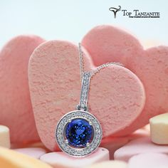 Stunning and Stylish design of Tanzanite Pendant by toptanzanite.com specially designed for you.