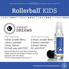 Sleep rollerball for kids