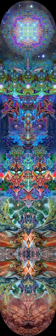 Visionary Art // meditation // psychedelic // transcendence // next level // spiritual // out of body Psychedelic Art, Arte Equina, Art Visionnaire, Psy Art, Mystique, Visionary Art, Fractal Art, Fractal Images, Sacred Geometry