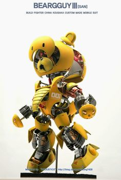 GUNDAM GUY: HG 1/144 BearGGuy III [Open Hatch] - Custom Build