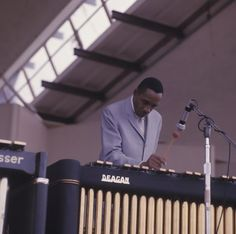 Milt Jackson at The Newport Jazz Festival in 1967