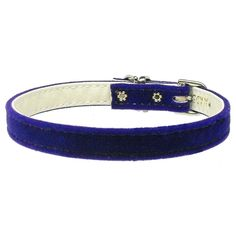 Mirage Pet Products 3/8-Inch Width Velvet Plain Collar for Pets, 10-Inch, Purple ^^ Discover this special dog product, click the image : Collars for dogs