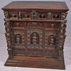 Antique Period 17th Century Royal Court Cabinet (4,750.00 )