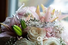 Every Bride deserve's a Crown. Maybe even the bouquet! Beach Weddings, Unique Weddings, Wedding Shot List, Bridal Party Getting Ready, Wedding Trends, Our Love, Michigan, Fairy Tales, Groom