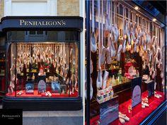 Penhaligon's Iris Prima Windows & In-Store by Prop Studios:  www.propstudios.co.uk