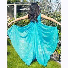 Kids Turquoise Costume Wings Butterfly Wings Fairy by flyingkiss, $26.00
