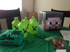 Three Boys Are We: Minecraft Birthday Party