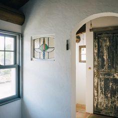 ibafralifeさんの、ドア,アンダーセン,DIY,漆喰,アンティーク,リノベーション,ステンドグラス,玄関/入り口,のお部屋写真