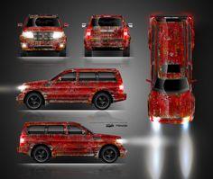 The approved full wrap design for Dodge Nitro 👍 Design by TTStudio.ru ✍️ #ttstudioru #folienfx #dodge #nitro #dodgenitro #cracked #oldlook #dirtydesign #dirtylook #usedlook #worn #wrapped #carwrap #wrapping #wrap #carwraps #vinylwraps #carwrapping #vinylwrap #design #desingforcar #carwrapdesign #wrapdesign #folie #foliedesign #foliecardesign Dodge Nitro, Car Wrap, Design, Design Comics