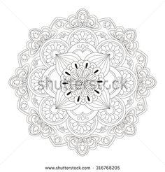 Mandala Stok Vektörler ve Vektör Küçük Resmi | Shutterstock