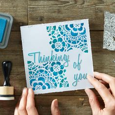 How to Make a Die-cut Tim Holtz Card - Hobbycraft Blog