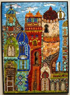 Mosaic Art Exhibit – Sum of All Parts 2 – Bath House Cultural Center – Dallas, TexasBy Resa McCreary