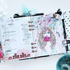 Be kind. Guard your lips. Those are the thoughts behind My Prima Planner spread…