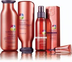 Pureology Reviving Red- I don't color my hair but this stuff is awesome- vegan and smells great!