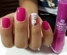 39 Fotos de Unhas decorada com margaridas – passo a passo Love Nails, Fun Nails, Tumblr Nail Art, Nail Jewelry, Pretty Nail Art, Shellac Nails, Stylish Nails, Cute Nail Designs, Finger