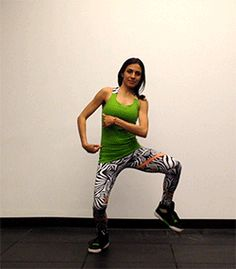 Flick Step: work your obliques, improve your balance, look awesome! #doonya #bollywood