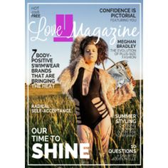 bfa98ad101be4 Love U Magazine is a body-positive fashion and lifestyle magazine that  promotes…