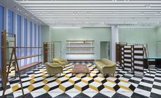 Occupying a corner spot within Miami's glittering Design District, where designer boutiques clamour for shopper's attention, a new Prada concept store is making its presence known. From the outside, its exterior evokes the precision and rectilinear lin...