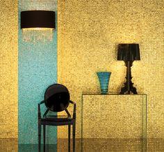 Original Style, mozaiek, goud, geel, woontruimte