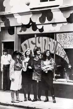 1960s boutique Beyond the Pale