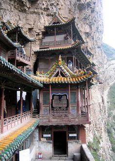 Hanging Monastery, Shanxi, China