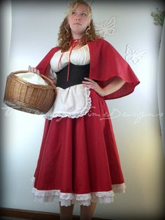 Red Riding Hood Costume, Little Red Riding Hood, Halloween Costume