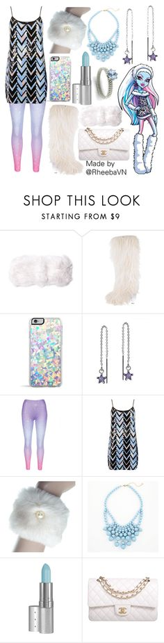 """Abbey Bominable 1 (Monster High)"" by rheebavn ❤ liked on Polyvore featuring C/FAN, Chanel, Forever 21, AeraVida, TFNC, Retrò, Viva La Diva and Diamondere"