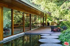 The Milton Goldman Residence in Encino Designed by Richard Neutra and Currently Owned by L.A. Law Creator/Producer Steven Bochco Hits the Market