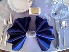 Image result for bow tie napkin fold
