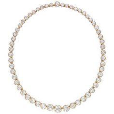 GABRIELLE'S AMAZING FANTASY CLOSET | Important Diamond Riviere Necklace