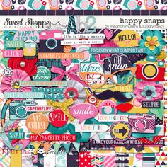Happy Snaps by Sugary Fancy Designs & Meghan Mullens