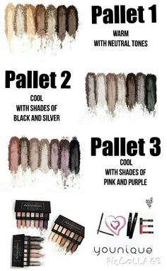 Younique Moodstruck Eyeshadow pallets! Get yours today! Absolutely gorgeous and they stay on all day long.