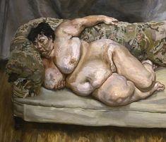 Lucian Freud, Benefits Supervisor Sleeping, (source: The Guardian)