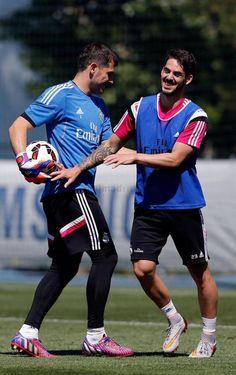 Casillas & Isco