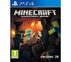SONY  Minecraft Price: £ 19.99 Get lost in the epic and innovative world of Minecraft PlayStation 4 Edition , where you can create your own worlds in a totally unique and entrancing video game where your imagination is the only limit. This incarnation of the classic Minecraft lets you make bigger worlds entirely of your own design - draw faster and enjoy a greater draw distance for incredible...