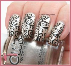 gold-and-black-stamping-nail-art