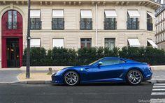 Car pornography — Starring: Ferrari 599 GTO by Sebastien Cosse