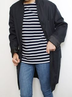Word, Black coat Striped shirt tumblr men Style denim