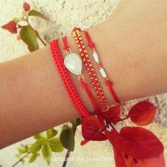 Coral #bracelets