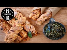 (1) Pizza bread with lemon tapenade - YouTube
