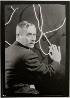 Today's big art birthday belongs to Joan Miró (April 20, 1893 - 1983), Catalan painter of childlike 'happy' surrealist canvases…  Photo: Joan Miró by Man Ray…