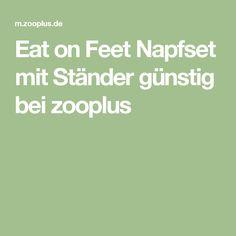 Eat on Feet Napfset mit Ständer günstig bei zooplus