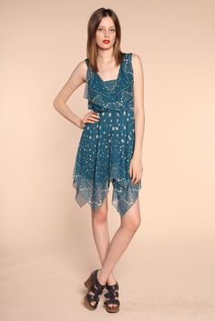 Anna Sui Resort 2014 Fashion Show Collection