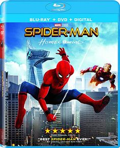 Shop Spider-Man: Homecoming [Includes Digital Copy] Ultra HD Blu-ray/Blu-ray] at Best Buy. Find low everyday prices and buy online for delivery or in-store pick-up. Tony Revolori, Spiderman Movie, Chicago Sun Times, Donald Glover, Michael Keaton, Blu Ray, Columbia Pictures, Downey Junior, Robert Downey Jr