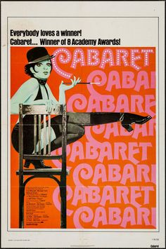 """Movie Posters:Musical, Cabaret (Allied Artists, R-1974). One Sheet (27"""" X 41""""). Musical....."""
